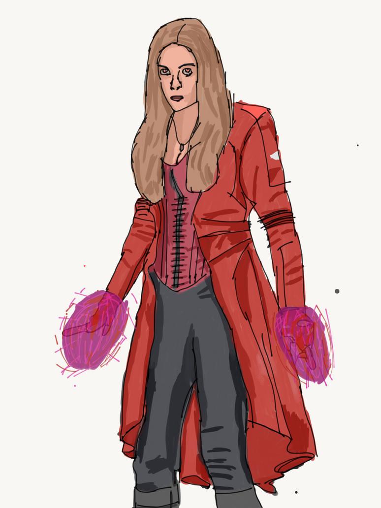 Scarlet Witch by LordDiscord25