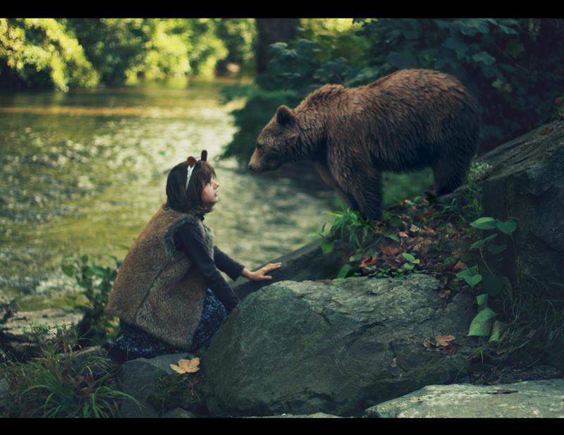 The bear and the bear by AlexandraSophie