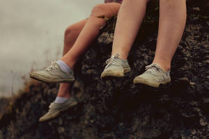 With socks or without by AlexandraSophie