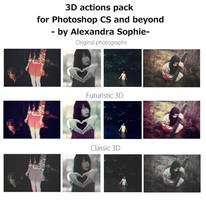 3D actions pack