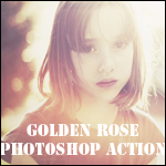 GOLDEN ROSE - Photoshop action by AlexandraSophie