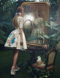 VOGUE CHINA - In wonderland by AlexandraSophie