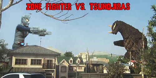 KWC Banner: Zone Fighter Vs Tsunojiras by KingLittleCaesar