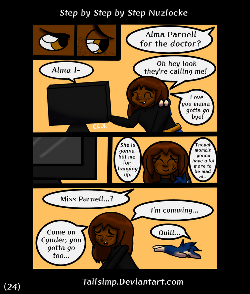 Step by Step by Step Nuzlocke Page 24 by Tailsimp