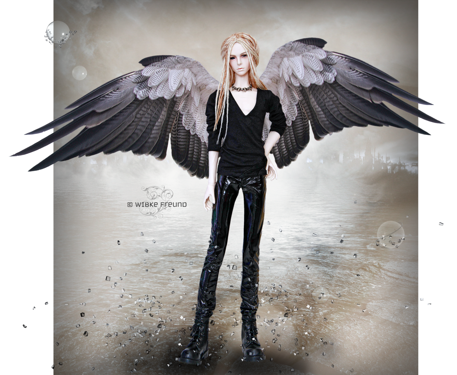 Lost Angel by Labeculas-Dollhouse