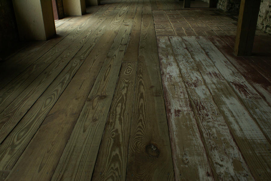 Old Wood Floor By MadhoshiStock ...
