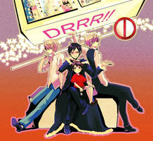 DRRR - IZA+SHIZUx3 by ihirotang