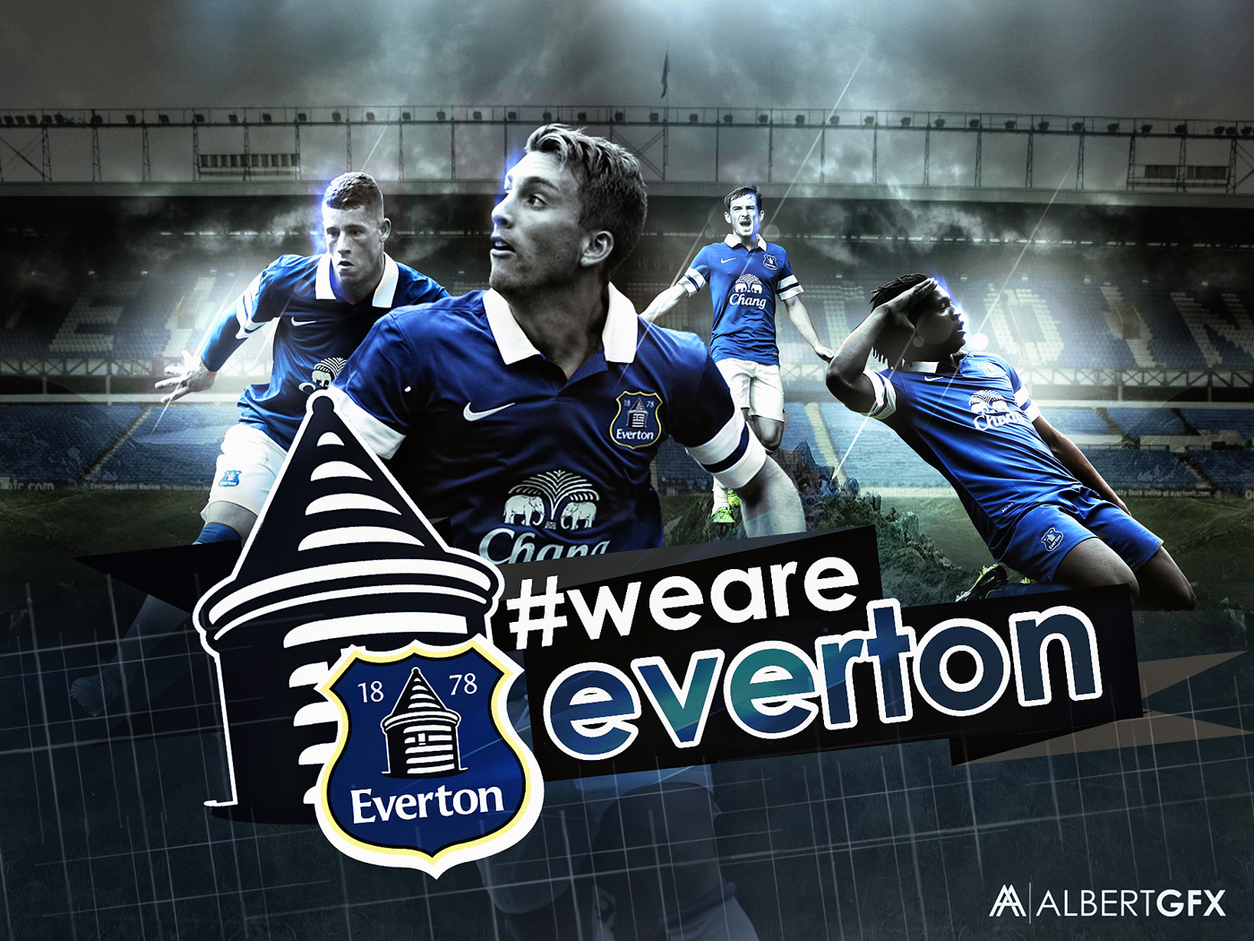 Everton FC 2014 By AlbertGFX