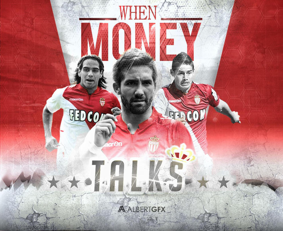 AS Monaco - When Money Talks by AlbertGFX