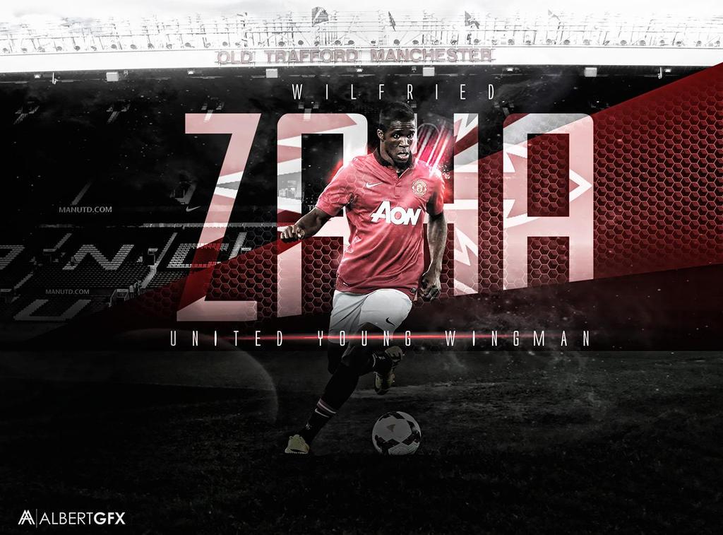 Wilfried Zaha (Manchester United) By AlbertGFX On DeviantArt