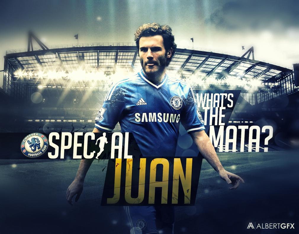 Juan Mata (Chelsea) by AlbertGFX
