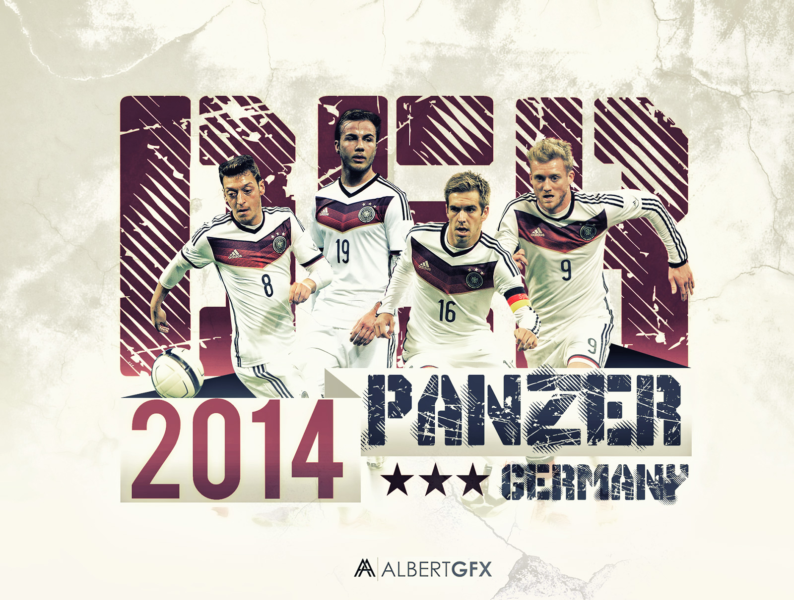 germany national Team by AlbertGFX