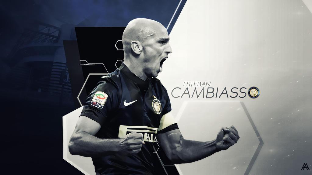 Esteban Cambiasso (Internazionale Milano) by AlbertGFX