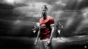 Michael Carrick Wallpaper by AlbertGFX