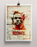 Wayne Rooney Poster (Watercolor Style)