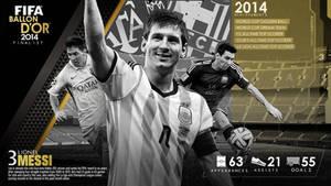 FIFA Ballon D'Or 2014 Finalist: Lionel Messi