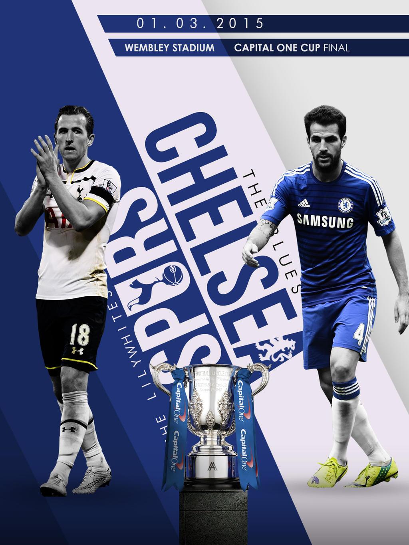 Chelsea FC V Tottenham Hotspurs Poster By AlbertGFX