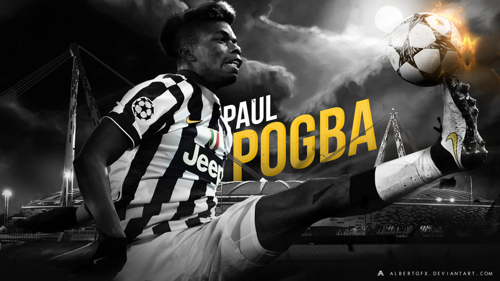 Paul Pogba 2014/15 Wallpaper By AlbertGFX On DeviantArt