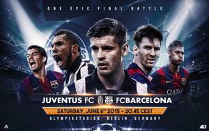UEFA Champions League Final Matchcard by AlbertGFX
