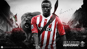 Victor Wanyama Wallpaper 2015/16 by AlbertGFX