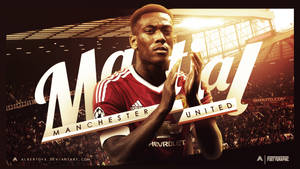 Anthony Martial (Manchester United) Wallpaper by AlbertGFX