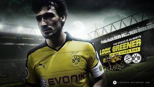 Mats Hummels left Borussia Dortmund