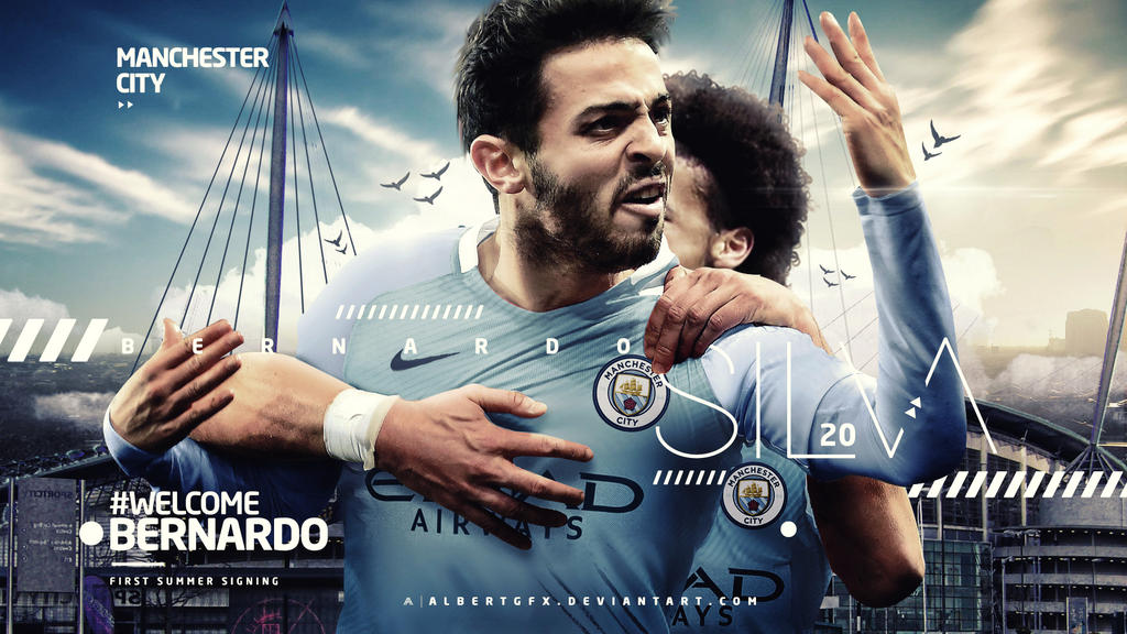 Bernardo Silva Manchester City Wallpaper