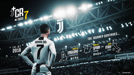 Welcome to Juventus, Cristiano Ronaldo. by AlbertGFX