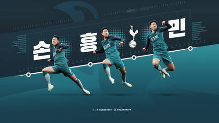 Son Heung-min 2018/19 Wallpaper