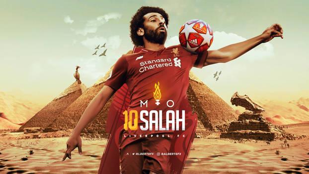 Mohammed Salah 2018/19 Wallpaper