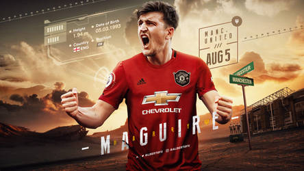 Harry Maguire Manchester United Wallpaper