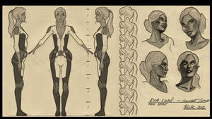 Eva Core Character Sheet by artist2point5