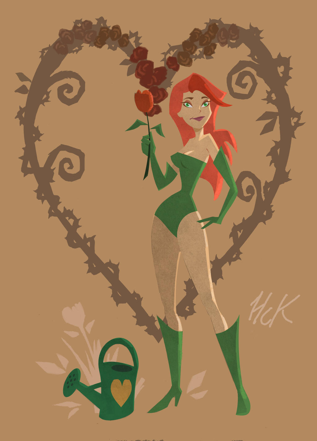 Poison Ivy by artist2point5