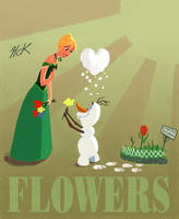 Flowers by artist2point5