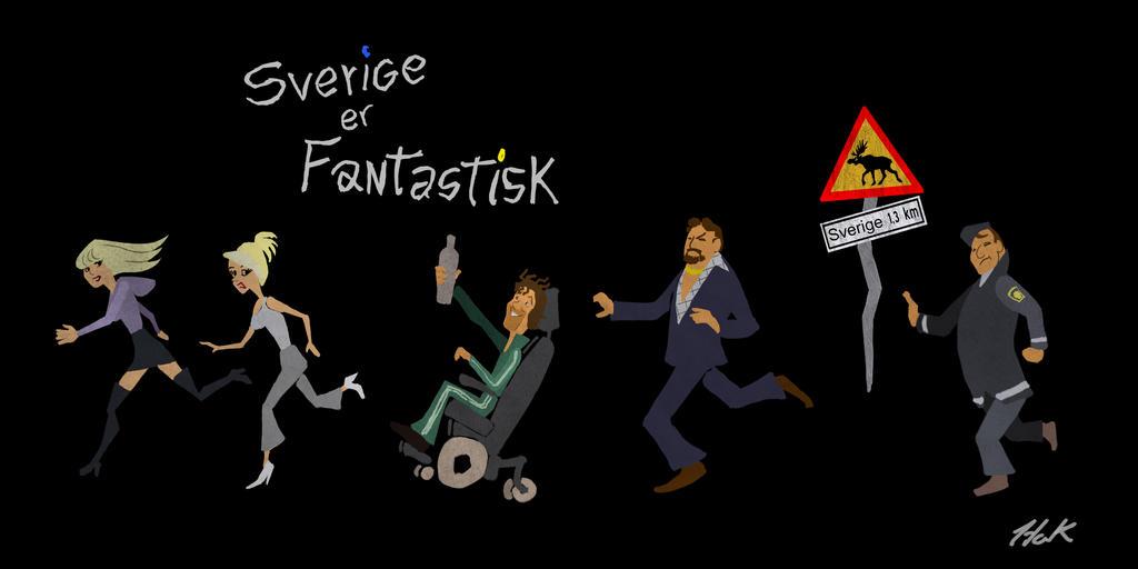 SverigeErFantastisk Concept by artist2point5
