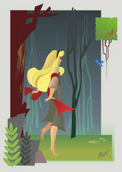 In the Forest by artist2point5