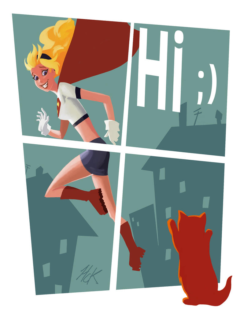 Supergirl Hi by artist2point5