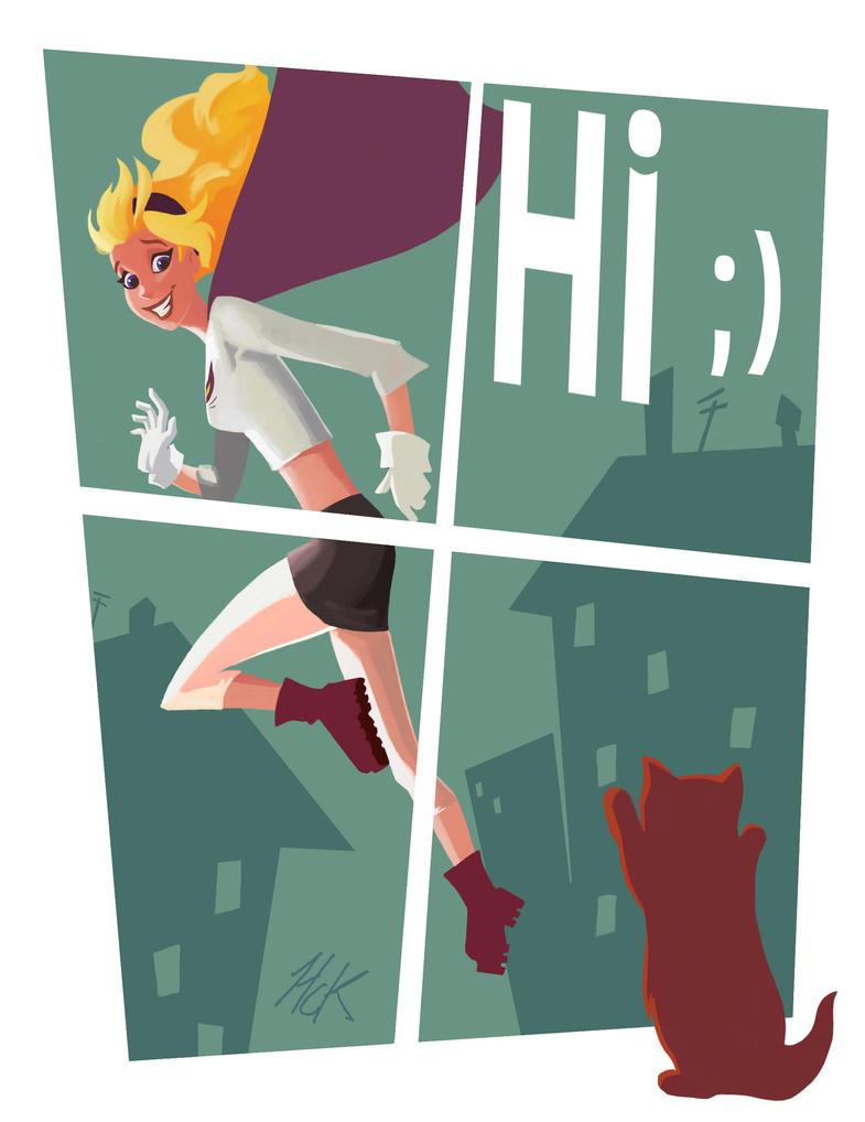HI again by artist2point5