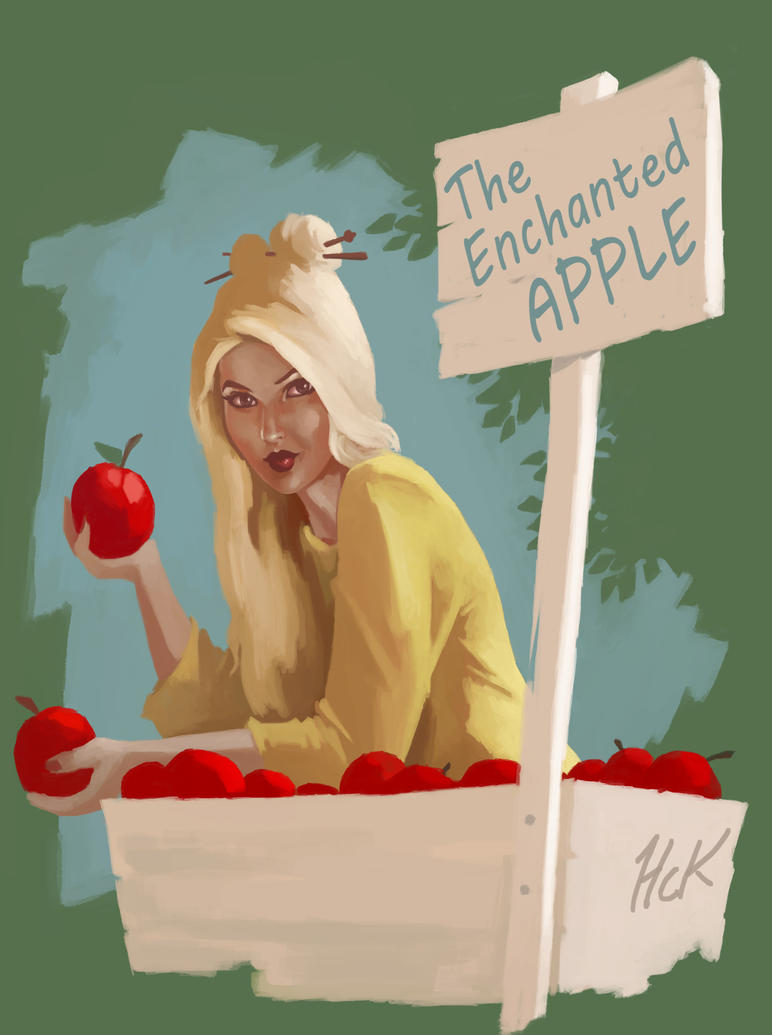 Enchanted Apple by artist2point5