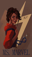 Ms Marvel Poster by artist2point5