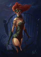 Birth of Poison Ivy by artist2point5