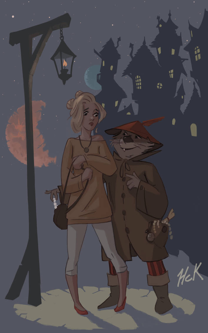 Vanilla and the notorious charming robber by artist2point5