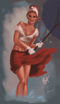 Pinup -Wet and Windy