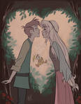 Black Cauldron -The Kiss by artist2point5