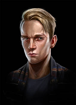 self portrait dishonored style