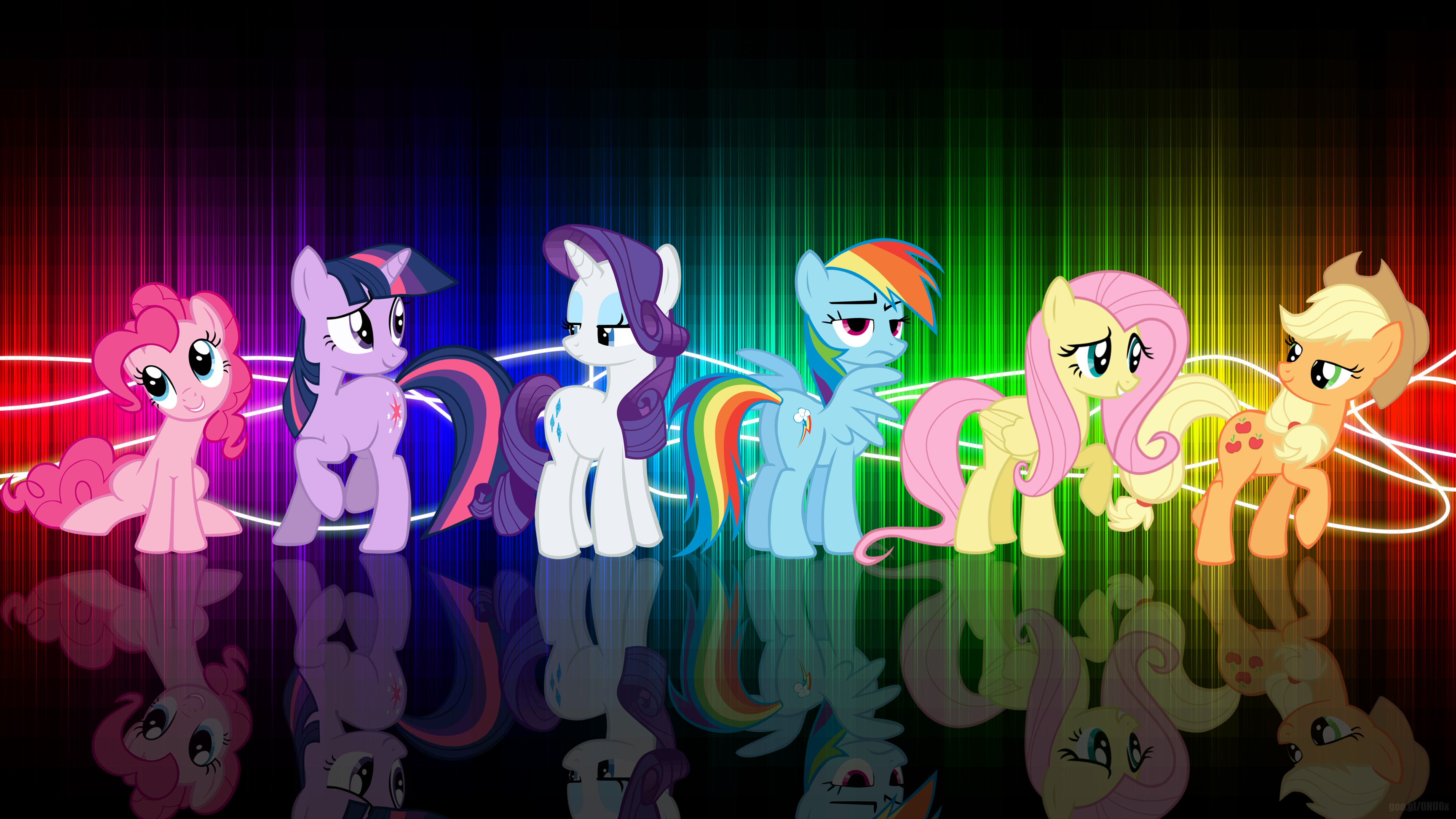 android mane 6 wallpaper - photo #10