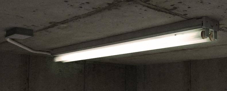 Fluorescent Light By Yesterdaysgrace On Deviantart