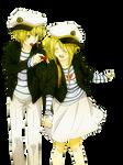 Mugi and Gumi Render
