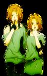 Ritsu and Kaoru Render