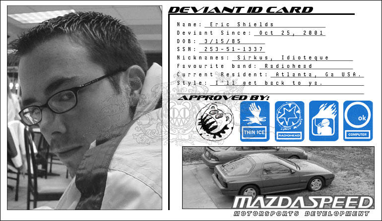 Deviant ID Card Sirkus by sirkus